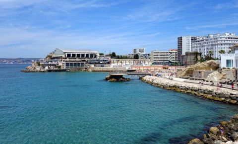 Cartierul La Corniche din Marsilia