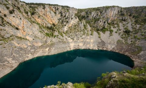 Lacul Albastru din Imotski