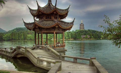 Lacul de Vest din Hangzhou