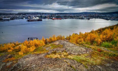 Lacul Semionovski din Murmansk
