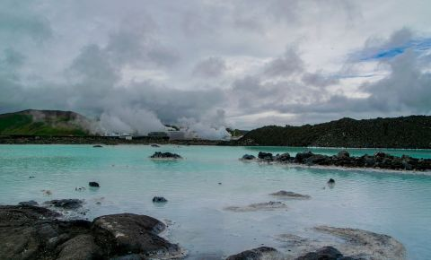 Laguna Albastra din Reykjavik