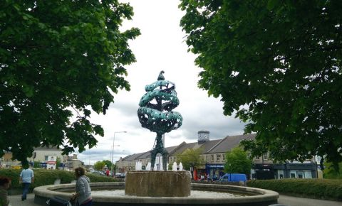 Monumentul Copacul Libertatii din Carlow