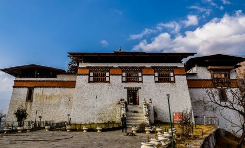 Manastirea Dechen Phodrang din Thimphu