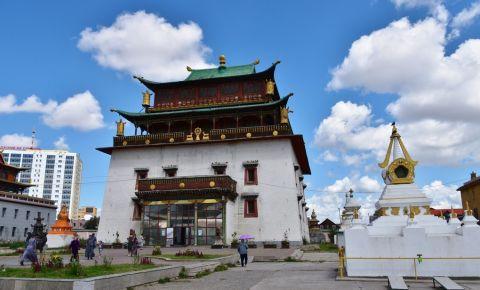 Manastirea Gandan din Ulan Bator