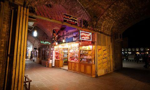 Marele Bazar din Isfahan