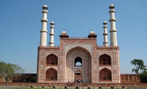 Mausoleul Akbar cel Mare din Agra