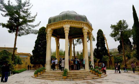Mausoleul Aramgah-e Hafez din Shiraz