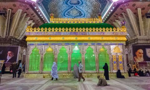 Mausoleul Khomeini din Teheran