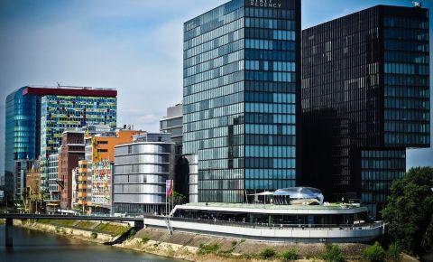 Cartierul Medien Hafen din Dusseldorf