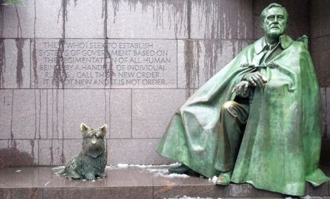 Memorialul Franklin Delano Roosevelt din Washington