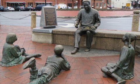 Memorialul Kunta Kinte-Alex Haley din Annapolis