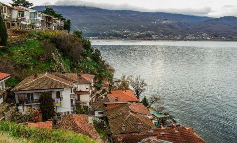 Cartierul Mesokastro din Ohrid