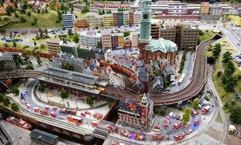 Calea Ferata Miniaturala MiWuLa din Hamburg