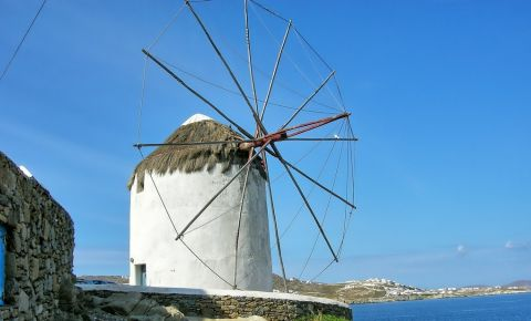 Moara Bonis din Insula Mykonos