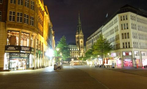 Strada Monckebergstrasse din Hamburg