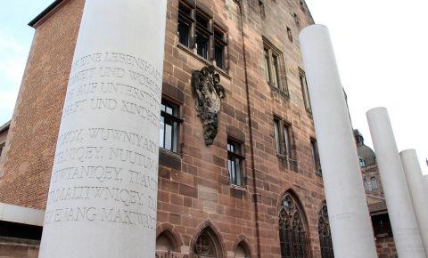 Monumentul Calea Drepturilor Omului din Nuremberg