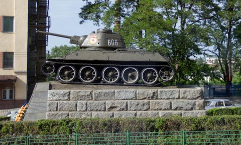 Monumentul Armatei Rosii din Cernauti