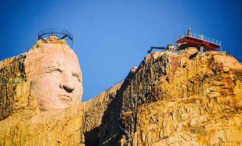 Monumentul Crazy Horse din Black Hills