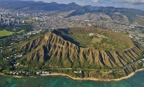 Monumentul Diamond Head din Honolulu