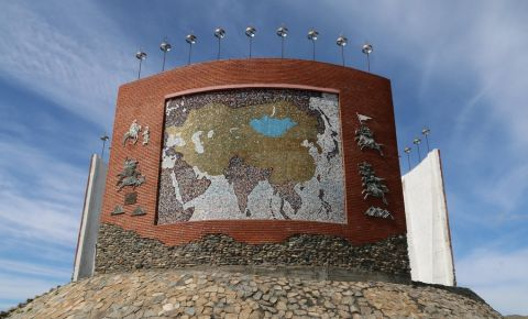 Monumentul Hartii Imperiale din Karakorum