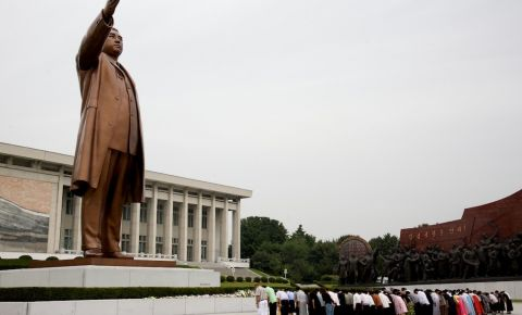 Monumentul Kim Il Sung din Phenian
