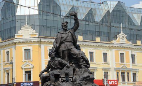 Monumentul Soldatilor Sovietici din Vladivostok