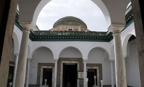 Monumentul Tourbet el-Bey din Tunis