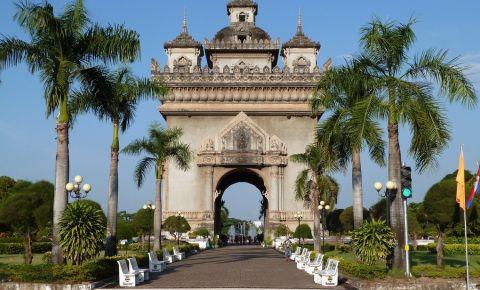 Monumentul Victoriei din Vientiane