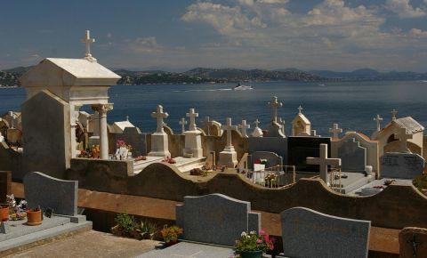 Mormantul lui Emile Olivier din Saint Tropez