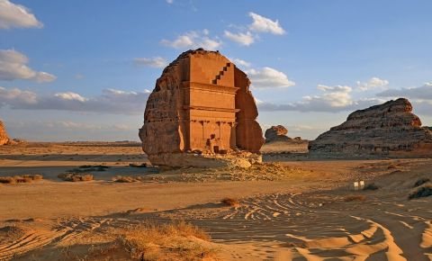 Mormantul Madain Saleh din Al-Ula