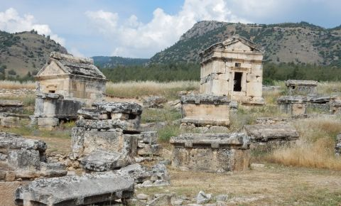 Mormantul Sfantului Filip din Pamukkale