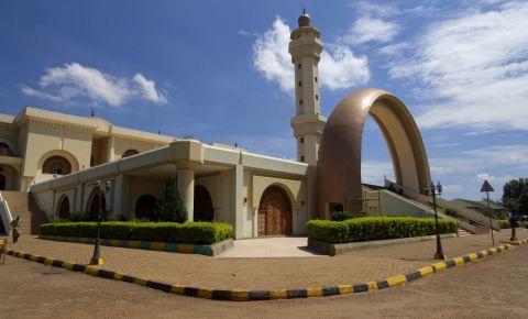 Moscheea Kibuli din Kampala