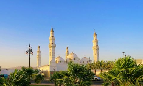 Moscheea Quba din Medina