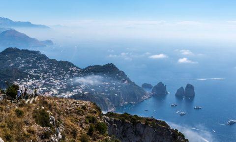 Muntele Solaro din Insula Capri
