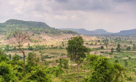 Muntii Kulen din Siem Reap
