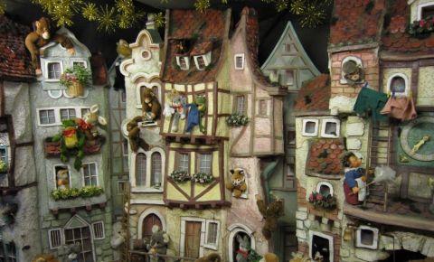 Muzeul de Papusi si Jucarii din Rothenburg ob der Tauber