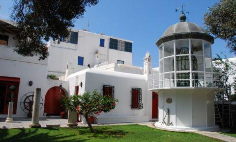 Muzeul Maritim Egeean din Insula Mykonos
