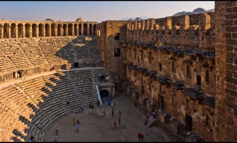Orasul Antic Aspendos din Antalya