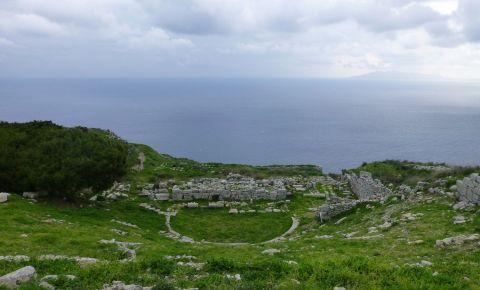 Orasul Antic din Insula Santorini