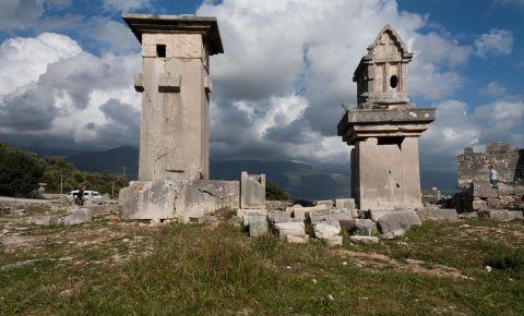 Orasul Antic Xanthos din Fethiye