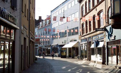 Strada Osteragade din Aalborg