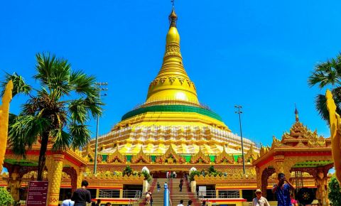 Pagoda Global Vipassana din Mumbai