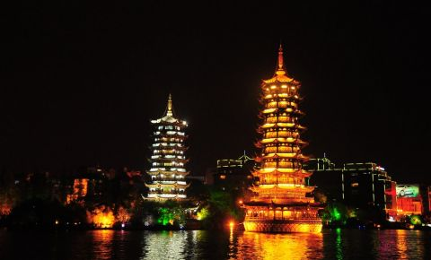 Pagoda Lunii din Guilin
