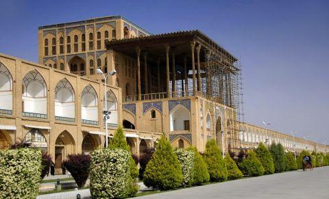 Palatul Ali Qapu din Isfahan