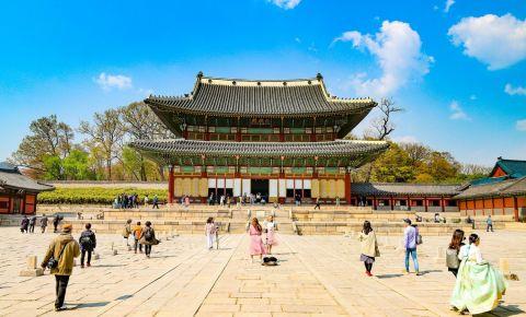 Palatul Changdeokgung din Seul