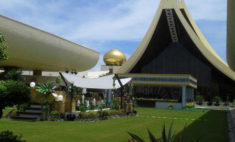 Palatul Istana Nurul Iman din Bandar
