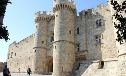 Palatul Marilor Artisti din Insula Rodos