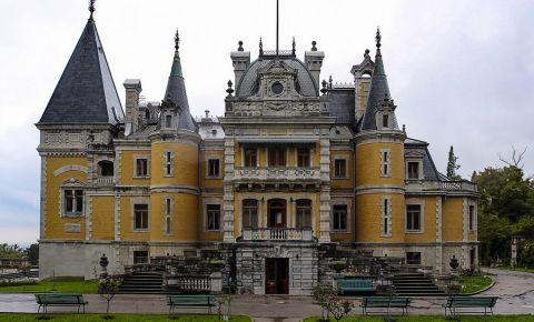 Palatul Massandra din Yalta