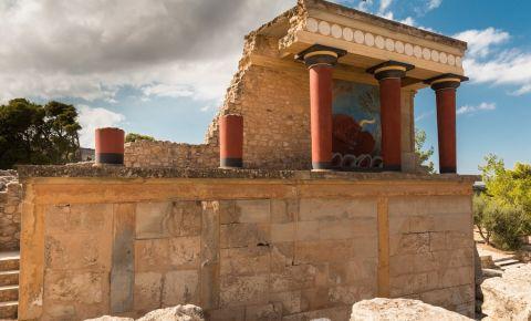 Palatul Minoic Knossos din Heraklion