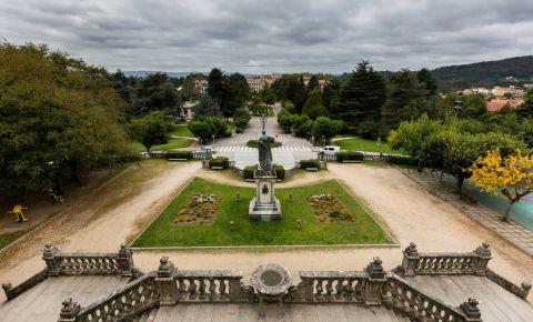 Parcul Alameda din Santiago de Compostela
